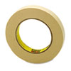 "Scotch® General Purpose Masking Tape 234, 18mm x 55m, 3"" Core, Tan MMM23434"