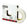"Scotch® 256 Printable Flatback Paper Tape, 1"" x 60yds, 3"" Core, White MMM2561"