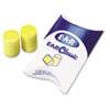 E·A·R Classic Earplugs, Pillow Paks, Uncorded, PVC Foam, Yellow, 200 Pairs
