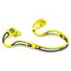 E A R Swerve Banded Hearing Protector, Corded, Yellow