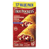 <strong>Hot Pockets®</strong><br />Sandwiches, Premium Pepperoni Pizza, 4.5 oz, 17/Box, Free Delivery in 1-4 Business Days