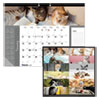 <strong>Blueline®</strong><br />Pets Collection Monthly Desk Pad, 22 x 17, Furry Kittens, 2021