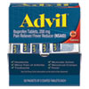 <strong>Advil®</strong><br />Ibuprofen Tablets, Two-Packs, 50 Packs/Box