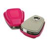 3M 60921 Respirator Cartridge/P100 Filter for Organic Vapors/Particulates, 2/Pack MMM60921