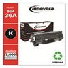 Remanufactured Black Toner Cartridge, Replacement for HP 36A (CB436A), 2,000 Page-Yield