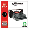 <strong>Innovera®</strong><br />Remanufactured Black Toner, Replacement for HP 64A (CC364A), 10,000 Page-Yield