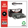 Remanufactured Black High-Yield Toner Cartridge, Replacement for HP 05X (CE505X), 6,500 Page-Yield