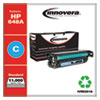 Remanufactured Cyan Toner Cartridge, Replacement for HP 648A (CE261A), 11,000 Page-Yield