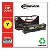 Remanufactured Yellow Toner Cartridge, Replacement for HP 304A (CC532A), 2,800 Page-Yield