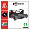 Remanufactured Black Toner Cartridge, Replacement for HP 35A (CB435A), 1,500 Page-Yield