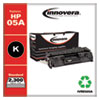 Remanufactured Black Toner, Replacement for HP 05A (CE505A), 2,300 Page-Yield