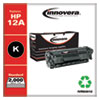 REMANUFACTURED BLACK TONER CARTRIDGE, REPLACEMENT FOR HP 12A (Q2612A), 2,000 PAGE-YIELD
