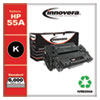 Remanufactured Black Toner Cartridge, Replacement for HP 55A (CE255A), 6,000 Page-Yield