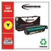 Remanufactured Yellow Toner Cartridge, Replacement for HP 648A (CE262A), 11,000 Page-Yield