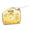 "Post-it® Labeling & Cover-Up Tape, Non-Refillable, 1/3"" x 700"" Roll MMM652"