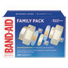 <strong>BAND-AID®</strong><br />Sheer/Wet Adhesive Bandages, Assorted Sizes, 280/Box