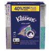 <strong>Kleenex®</strong><br />Ultra Soft Facial Tissue, 3-Ply, White, 8.75 x 4.5, 65 Sheets/Box, 4 Boxes/Pack