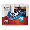 <strong>Scott®</strong><br />Choose-a-Size Mega Kitchen Roll Paper Towels, 1-Ply, 102/Roll, 6 Rolls/Pack, 4 Packs/Carton