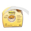 "Post-it® Labeling & Cover-Up Tape, Non-Refillable, 1"" x 700"" Roll MMM658"