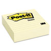 Original Lined Notes, 4 x 4, Canary Yellow, 300-Sheet