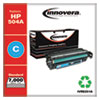 Remanufactured Cyan Toner Cartridge, Replacement for HP 504A (CE251A), 7,000 Page-Yield