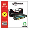 Remanufactured Yellow Toner Cartridge, Replacement for HP 504A (CE252A), 7,000 Page-Yield