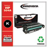 Remanufactured Black High-Yield Toner Cartridge, Replacement for HP 504X (CE250X), 10,500 Page-Yield
