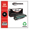 Remanufactured Black Toner Cartridge, Replacement for HP 504A (CE250A), 5,000 Page-Yield