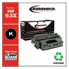 Remanufactured Black High-Yield Toner Cartridge, Replacement for HP 53X (Q7553X), 7,000 Page-Yield