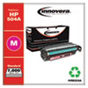 Remanufactured Magenta Toner Cartridge, Replacement for HP 504A (CE253A), 7,000 Page-Yield