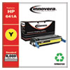 REMANUFACTURED YELLOW TONER CARTRIDGE, REPLACEMENT FOR HP 641A (C9722A), 8,000 PAGE-YIELD