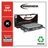 Remanufactured Black Toner Cartridge, Replacement for HP 501A (Q6470A), 6,000 Page-Yield