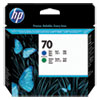 <strong>HP</strong><br />HP 70, (C9408A) Blue/Green Printhead