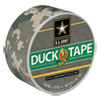 """COLORED DUCT TAPE, 3"""" CORE, 1.88"""" X 10 YDS, DIGITAL CAMO"""
