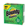 <strong>Bounty®</strong><br />Quilted Napkins, 1-Ply, 12.2 x 12, White, 200/Pack, 400/Carton