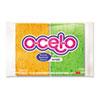 3M O-Cel-O O-Cel-O Sponge w/3M Stayfresh Technology, 4 7/10 x 3 x 3/5, 4/Pack MMM7274T