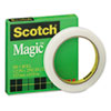 """MAGIC OFFICE TAPE, 3"""" CORE, 0.5"""" X 72 YDS, CLEAR"""