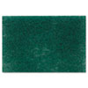 "Scotch-Brite™ PROFESSIONAL Commercial Heavy Duty Scouring Pad 86, 6"" x 9"", Green, 12/Pack, 3 Packs/Carton - 86"