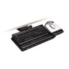 "3M Easy Adjust Keyboard Tray, Highly Adjustable Platform, 23"" Track, Black MMMAKT150LE"