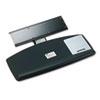 3M Knob Adjust Keyboard Tray With Standard Platform, 25 1/5w x 12d, Black MMMAKT60LE