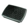 3M Adjustable Height/Tilt Footrest, Nonskid Platform, 18w x 13d x 4h, Charcoal Gray MMMFR330