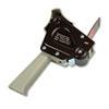"Scotch® H180 Box Sealing Pistol Grip Tape Dispenser, 3"" Core, Plastic/Metal, Gray MMMH180"