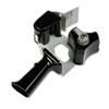 "Pistol Grip Box Sealing Tape Dispenser, 3"" Core, Black"