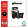 Remanufactured Black Ink, Replacement For Epson T200 (T200120), 175 Page Yield