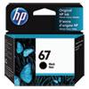 <strong>HP</strong><br />HP 67, (3YM56AN) Black Original Ink Cartridge