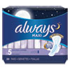 <strong>Always®</strong><br />Maxi Pads, Extra Heavy Overnight, 20/Pack