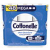 NON-RETURNABLE. ULTRA CLEANCARE TOILET PAPER, STRONG TISSUE, MEGA ROLLS, SEPTIC SAFE, 1 PLY, WHITE, 340 SHEETS/ROLL, 12 ROLLS