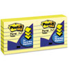 Post-it® Pop-up Notes Original Canary Yellow Pop-Up Refill, Lined, 3 x 3, 100-Sheet, 6/Pack MMMR335YW