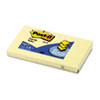 Post-it® Pop-up Notes Original Canary Yellow Pop-Up Refill, 3 x 5, 12/Pack MMMR350YW