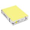 Mohawk BriteHue Multipurpose Colored Paper, 20lb, 8 1/2 x 11, Ultra Lemon, 500 Sheets MOW101246
